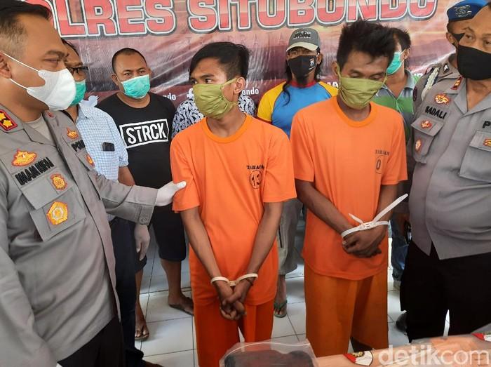 dua pelaku pembunuhan di situbondo ditangkap