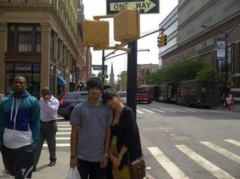 Dimas Radityo dan Dylan Sada pada 2012