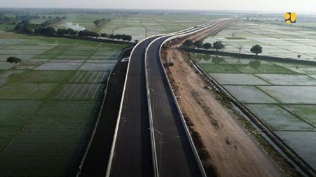 Jalan Tol Akses Ke Pelabuhan Patimban (Dok. Kemeterian PUPR)