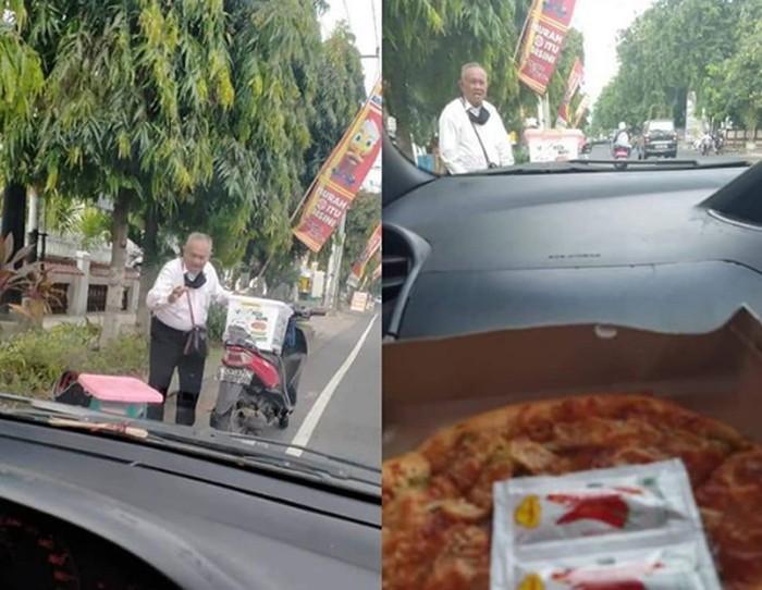 Kakek Jualan Pizza di Bali