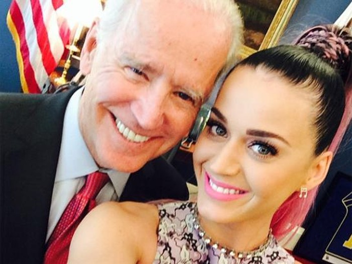 Katy Perry dan Joe Biden