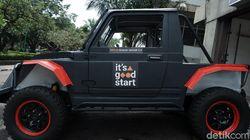 Video Kerennya Mobil Militer Tenaga Listrik Buatan Itenas Bandung