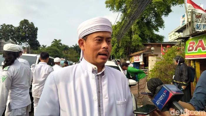Ketua Persaudaraan Alumni (PA) 212 Slamet Maarif (Sachril Agustin/detikcom)