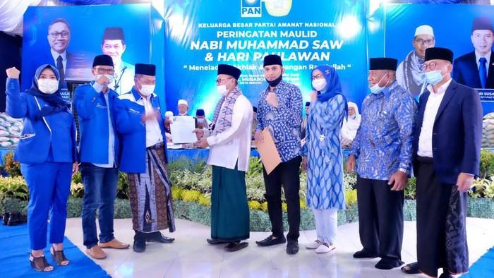 PAN gelar acara peringatan Maulid Nabi Muhammad SAW dan Hari Pahlawan di Banten. Ketum dan Waketum PAN hadir dalam acara itu.