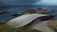 Namanya The Whale, pusatnya akan berlokasi di Andenes, Pulau Andoya. Tepatnya di sekitar 300 km utara Lingkar Arktik. (Mir / The Whale / Dorte Mandrup)
