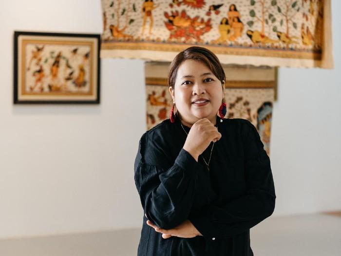 Pameran Seni Kisah Antah-Berantah Karya Perupa Citra Sasmita di Museum MACAN Jakarta dibuka pada Desember 2020