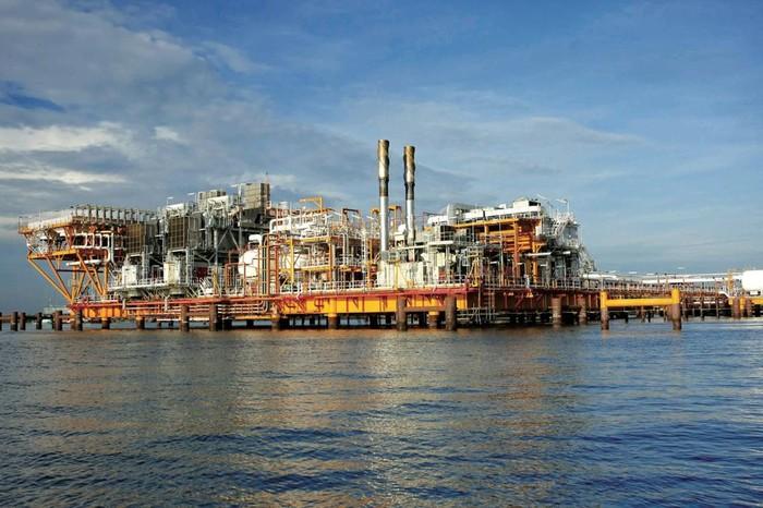 Pengeboran minyak dan gas Pertamina Hulu Mahakam