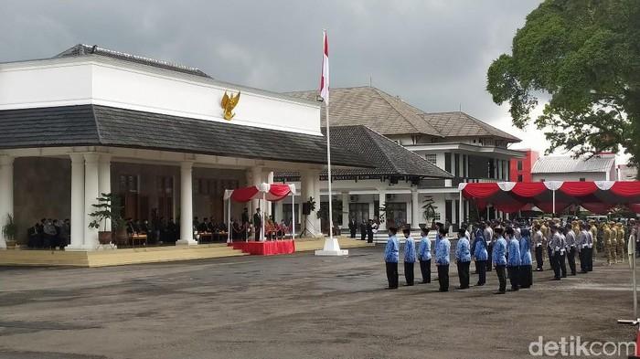 Peringatan Hari Pahlawan di Kabupaten Ciamis.