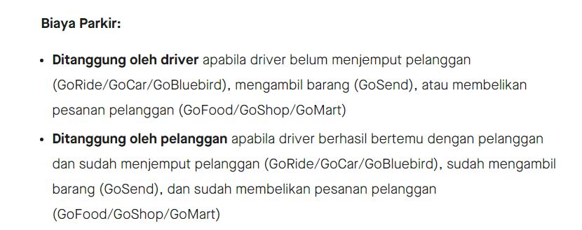 Kustomer Ogah Bayar Parkir saat Pesan Makanan via Ojol, Ini Aturan yang Benar!