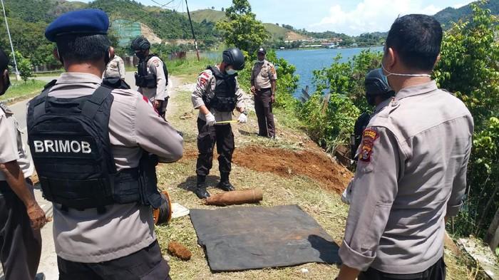 Polisi Temukan Mortir di Sentani Timur, Jayapura