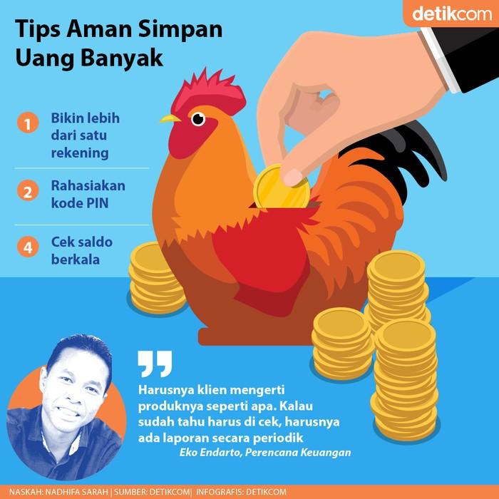 Tips Simpan Uang Banyak