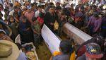 Potret Jalan di Meksiko Rusak Akibat Banjir