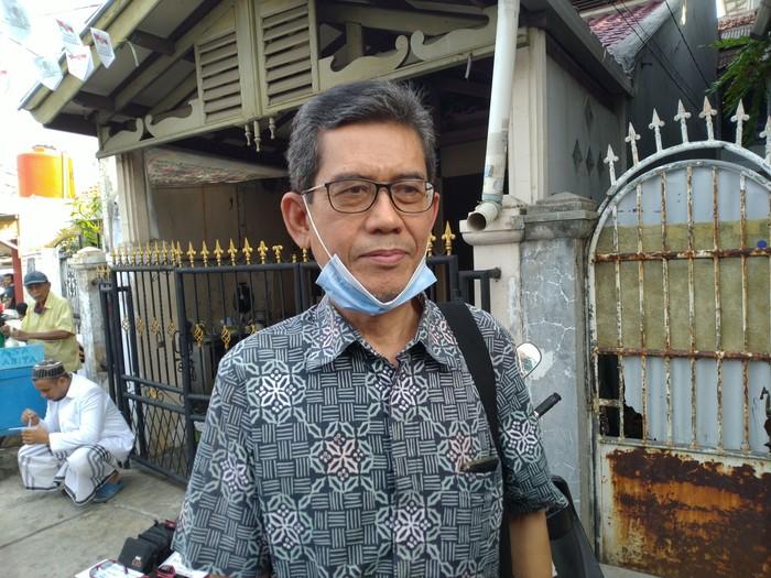 Deklarator KAMI, Marwan Batubara. (Sachril Agustin Berutu/detikcom)