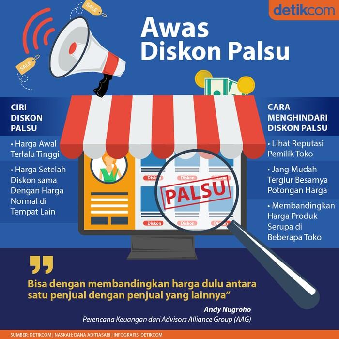 Diskon Palsu