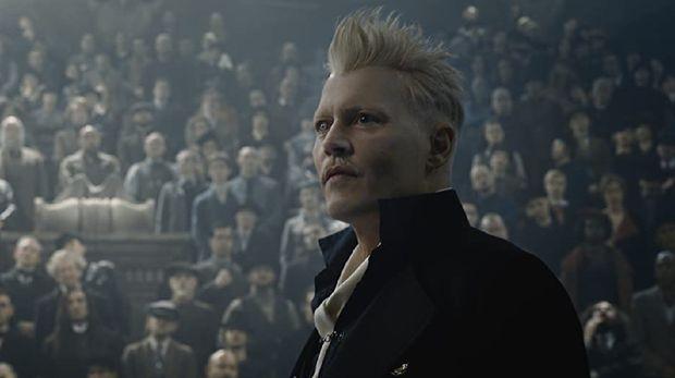 Johnny Depp di film Fantastic Beast.