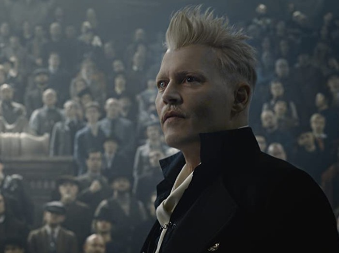 Johnny Depp di film Fantastic Beast.