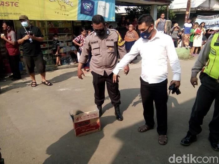 Mayat Bayi Dibuang di Bogor
