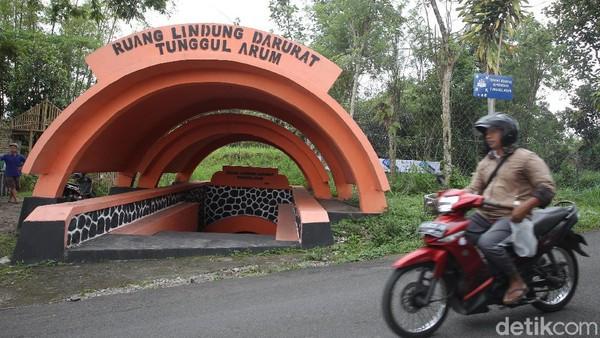 Bunker ini salah satu tempat perlindungan darurat warga yang masih aktif hingga saat ini.