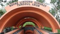 Rulinda yang dibangun untuk tempat berlindung warga dari awan panas saat erupsi Gunung Merapi.