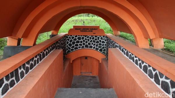 Begini penampakan terkini ruang lindung darurat (Rulinda) atau bunker di Dusun Tunggularum, Turi, Sleman, Yogyakarta, Rabu (11/11/2020).