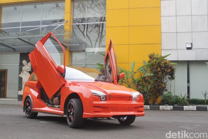 Mobil listrik Evhero jenis crossover