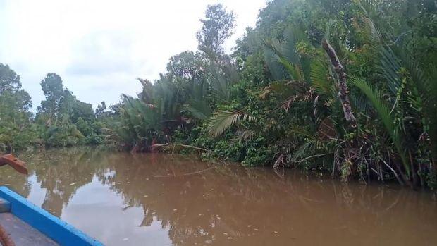 Muara dan sungai di Kabupaten Tanah Laut.