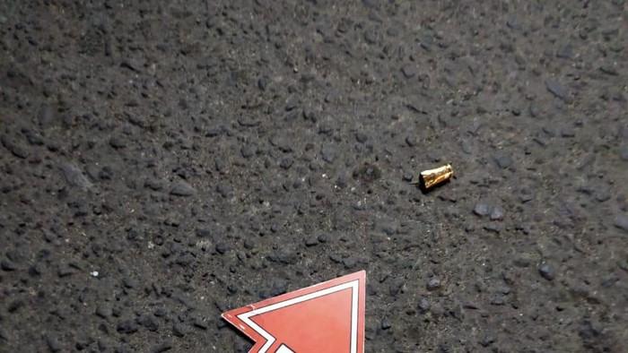 Selongsong peluru ditemukan di lokasi (dok. Istimewa)