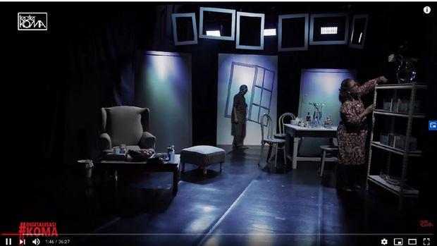 Teater Koma Tetap Gelar Pertunjukan di Saat Pandemi