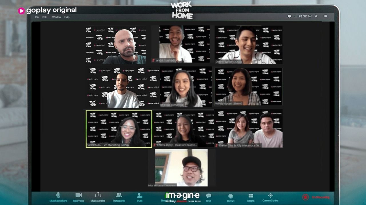Work From Home, Sitkom Baru GoPlay tentang Ribetnya WFH