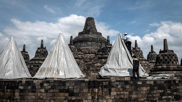 Langkah yang dilakukan ini untuk mengantisipasi erupsi Gunung Merapi.