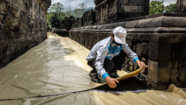 Sementara itu, Koordinator Kelompok Kerja Pemeliharaan Kawasan Cagar Budaya (KCB) Borobudur, Bramantara menambahkan, dalam pengelolaan warisan budaya dunia terdapat sistem disaster risk manajemen atau manajemen pengelolaan bencana. Hal ini sebagai salah satu wujud tanggap terhadap bencana.