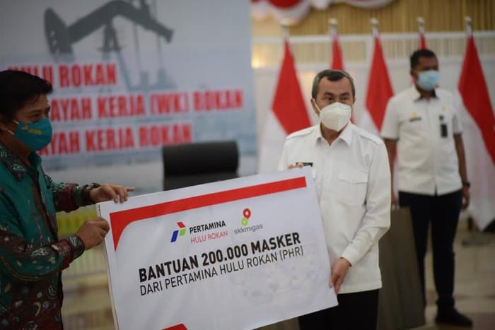 Direktur PT Pertamina Hulu Rokan (PHR) RP Yudantoro bertemu dengan Gubernur Riau Syamsuar dan jajaran pemerintah Kabupaten dan Kota di Pekanbaru.