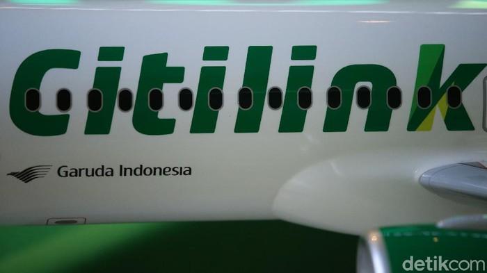 Ilustrasi Pesawat Citilink