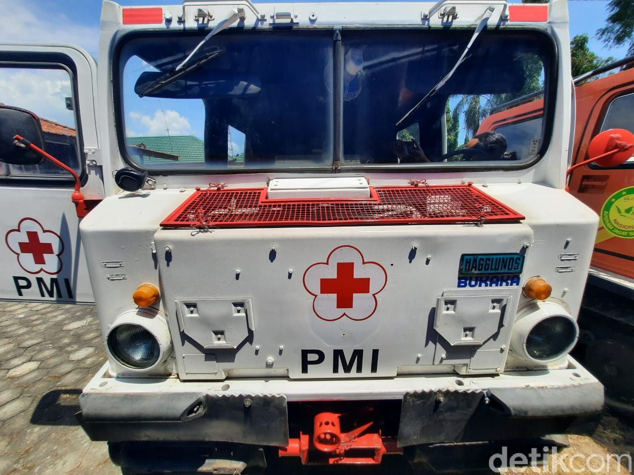 Ini Haglund, Kendaraan Taktikal yang Diterjunkan untuk Evakuasi Warga Merapi
