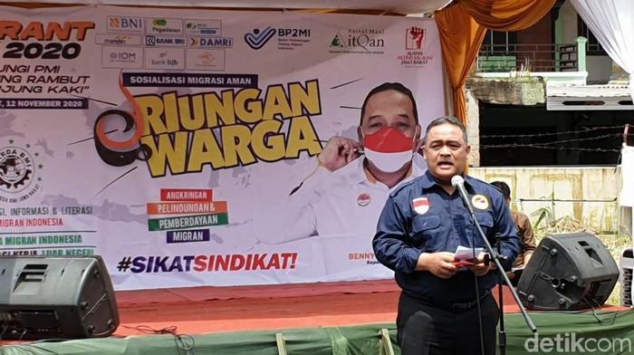 Kepala Badan Perlindungan Pekerja Migran Indonesia (BP2MI) Benny Ramdhani