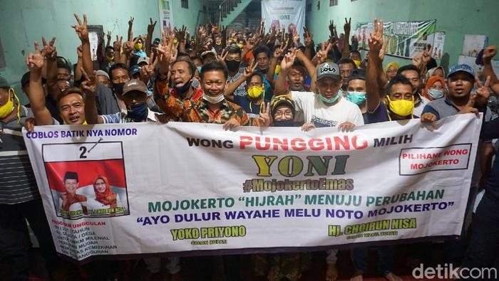 Menangkan Yoko-Nisa di Pilbup Mojokerto, Wong Pungging Incar 80 Persen Suara