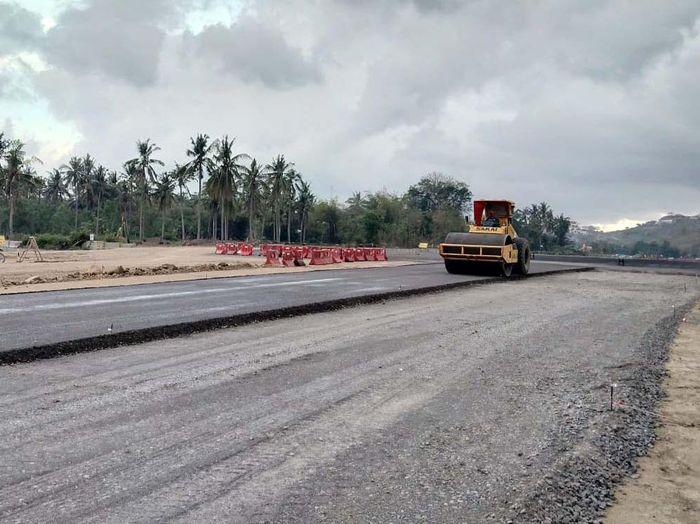 Pembangunan sirkuit MotoGP di Mandalika, Lombok Tengah, Nusa Tenggara Barat (NTB) terus berlanjut. Sirkuit ini akan menjadi salah satu arena balap MotoGP 2021.