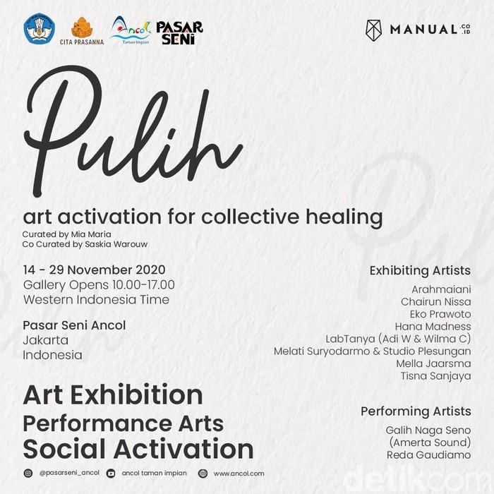Pasar Seni Ancol gelar pameran seni PULIH pada 14-29 November 2020