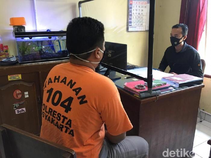 Pelaku pembacokan, MIH atau Siho yang beraksi di jalanan Kota Yogyakarta.
