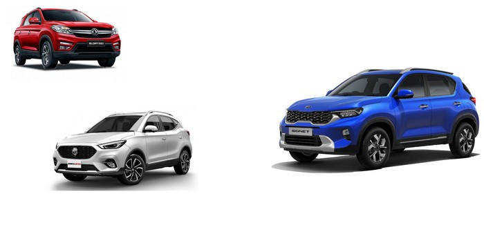 Perbandingan harga KIA Sonet dan kompetitor di segmen low SUV