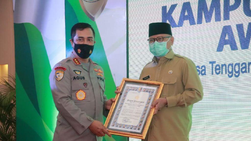 Bupati Lombok Timur Jadi Tokoh Terbaik Kampung Sehat NTB 2020