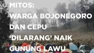 Mitos Warga Bojonegoro dan Cepu Dilarang Naik Gunung Lawu Hanyalah Legenda