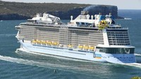 Baru Berlayar, Kok Kapal Pesiar Ini Langsung Putar Balik?