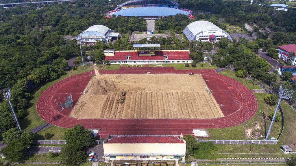 Sambut Piala Dunia U-20 2021, Arena Atletik Jakabaring Direnovasi