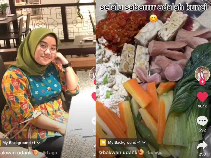 Kisah wanita yang sukses menurunkan berat badannya