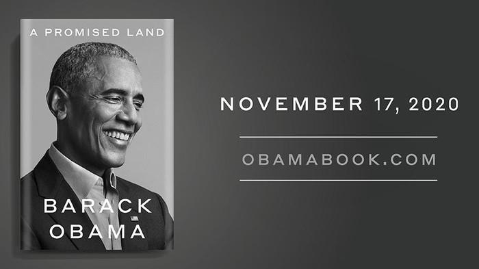 Buku Memoar Barack Obama Berjudul A Promised Land