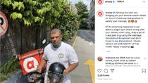 Bos AirAsia Tony Fernandes Jadi Ojol Antar Makanan?