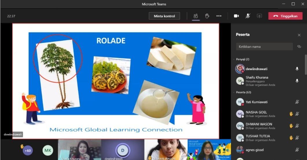Sekolah di Salatiga Kenalkan Enting-enting ke India dan Malaysia