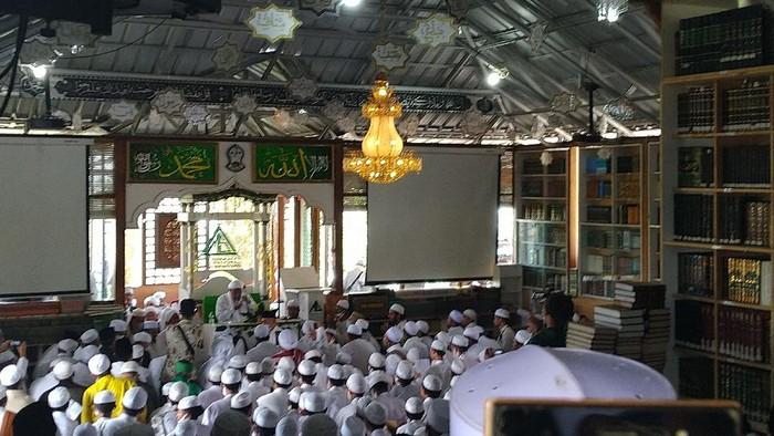 Habib Rizieq di Ponpes Alam Agrokultural Markaz Syariah, Megamendung, Bogor, Jumat (13/11/2020).
