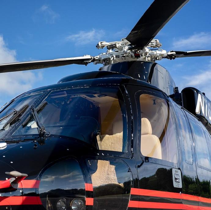 Helikopter Donald Trump dijual